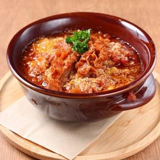 お肉のお惣菜。トリッパの煮込み