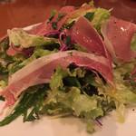 トントンベベ - 生ハムのサラダ