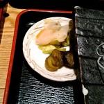 魚の三是 - お新香