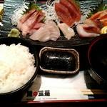 魚の三是 - 刺身定食