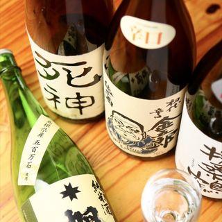 常時50種以上の日本酒があります!!