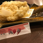 海鮮丼屋  海舟 - シラスのかき揚げ  サックサク