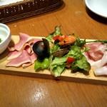 SALVATORE CUOMO & BAR 覚王山 - 前菜盛り合わせ 1015円