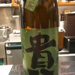 鮨知春 - 日本酒は大将のおすすめで♫