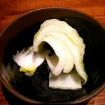 63709585 - 自家製の白菜浅漬け