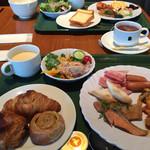 三井ガーデンホテル - バローロで朝食ビュッフェ