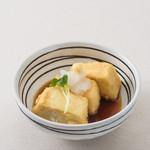 釜焼鳥本舗おやひなや - 揚げだし豆腐