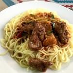 ウルムチ フードアンドティー - セリクアシ ウイグル流特製ソースの麺