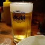 かわ屋 - (2017/1月)生ビール中