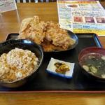 63713751 - 鶏の唐揚定食
