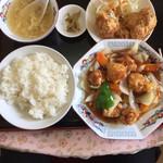 福香園 - 酢豚定食(650円)