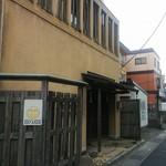 ふか川 - 旧日光街道、谷塚から竹ノ塚を向き、左手。
