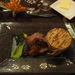ラ・ロシェル - 鹿児島県産黒毛和牛ロース肉の塩釜焼き 炊き込みご飯