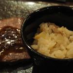 ラ・ロシェル - 出水米と南国元気鶏、筍の炊き込みご飯