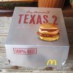 マクドナルド - テキサス2を食べてみました。