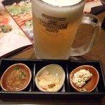 坐・和民 - ビールはキンキン♪