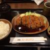 洋食屋 カーネリアン - 料理写真:梅つつみトンカツ定食