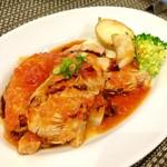 バティチ - Aランチの 豚バラ肉のトマト煮