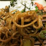いっぽん - モチモチ麺と醤油ベースの味付けがGood!