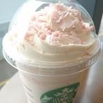 スターバックスコーヒー - さくら ブロッサム クリーム フラペチーノ