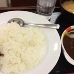 松屋 - ハンバーグカレー(大盛り)