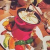 オカユスタンド - 料理写真:みんなでワイワイとろ~りチーズを楽しみましょ