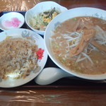 龍京苑 - Fランチ(味噌)