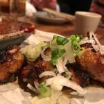 鉄火 - 和牛ホルモンから味噌焼き580円