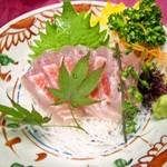 楽膳 - 金目鯛のお刺身