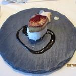 オリエンタルホテル - フォアグラのソテー お寿司仕立て