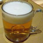 パウロ アンド ボルガ - 生ビール可愛いジョッキでした