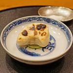旬席 鈴江 - 河豚の白子焼き