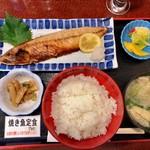 居酒屋 志乃 - 料理写真:焼き魚定食(鯖)700円