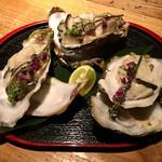 Nappajushi - 突き出しー生牡蠣