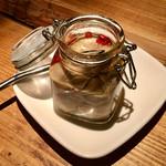 なっぱjuicy - 牡蠣の自家製ハーブオイル漬け