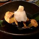なっぱjuicy - 米茄子の揚げびたし