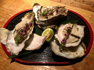 なっぱjuicy 川崎 - 突き出しー生牡蠣