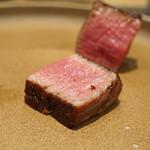 やまぐち - 牛ヒレ肉のステーキ