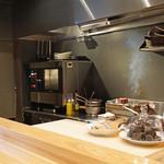 やまぐち - オープンキッチン