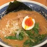 麺酒場 框 - 海出汁合わせ味噌麺750円