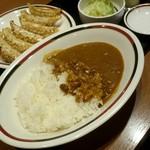 みよしの - 野菜ぎょうざみよしのセット520円