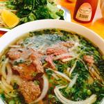 ベトナム料理フォーベトナム - 牛肉のフォー¥700を頂きました