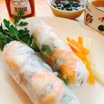ベトナム料理フォーベトナム - 生春巻き¥660を頂きました