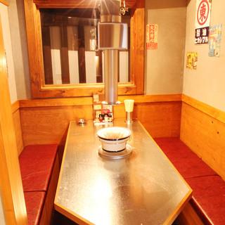個室席完備◎プライベート空間で落ち着いた雰囲気の個室席