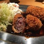 マルタケ - 2017/02 和牛ミルフィーユ ビフカツ (1,200円)