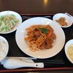 健康中華 青蓮 - 甘酢豚セット