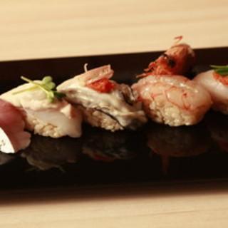 赤酢の江戸前寿司
