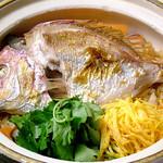 時の間 - 土鍋で炊き上げる「鯛めし」
