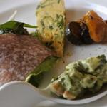トラットリア ルンガルノ - 前菜