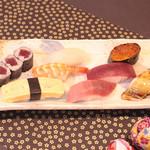 鮨 くろ澤 - 上寿司 1,700円